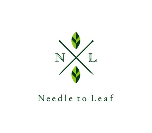 Needle to Leaf - 日本茶のお店 ロゴ