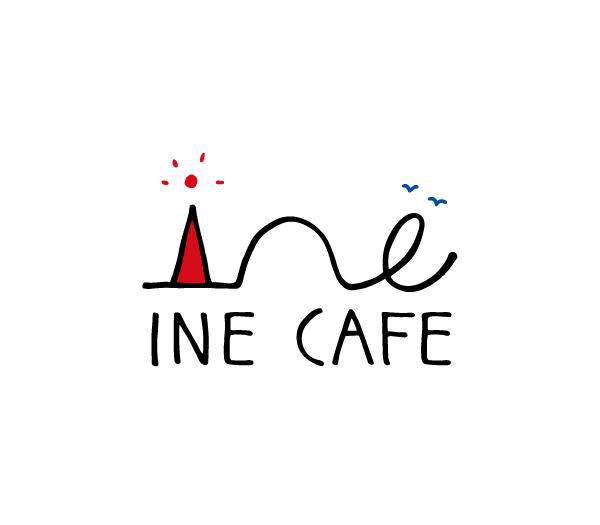 カフェ「INE CAFE」のロゴ