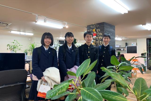 岩手県立盛岡第一高等学校の1年生が、SGH(スーパー グローバル ハイスクール)の「関西フィールドワーク」